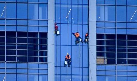 Nettoyage de vitre difficile d'accès Lyon